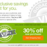 Godaddy Coupon Februari 2014