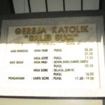 Jadwal Misa Di Gereja Salib Suci Tropodo